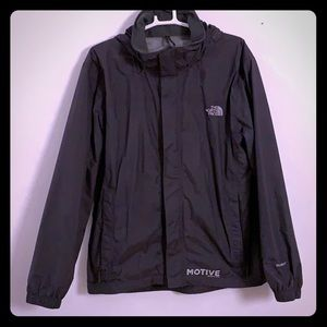 North face men's HyVent waterproof shell